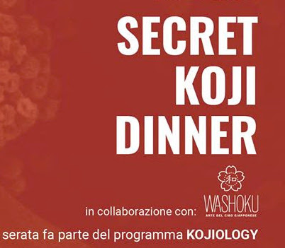 I fermentati giapponesi: Secret Koji Dinner